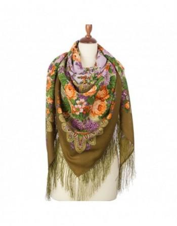 1360-10-sal-din-lana-146x146cm-original-pavlovo-posad-rusia-model-floral-tsvetet-siren-pe-fundal-verde