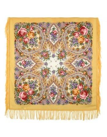 1706-2-batic-din-lana-89x89cm-original-pavlovo-posad-rusia-model-vesenniye-zori-multicolor-pe-fundal-galben