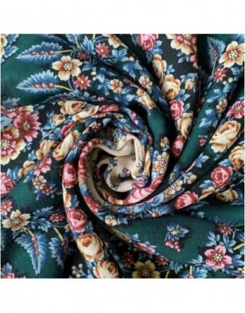 batic-esarfa-sal-din-lana-89x89cm-original-pavlovo-posad-rusia-model-floral-noch-svetla-pe-fundal-verde