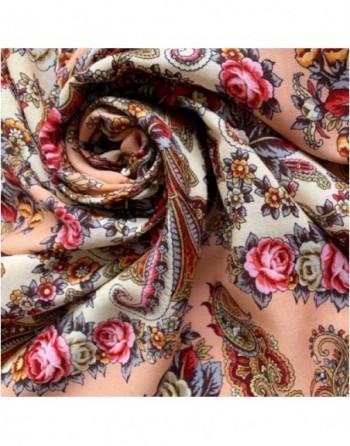 sal-esarfa-basma-batic-lana-125x125cm-original-pavlovo-posad-rusia-model-floral-lyubushka-golubushka-pe-fundal-crem-corai