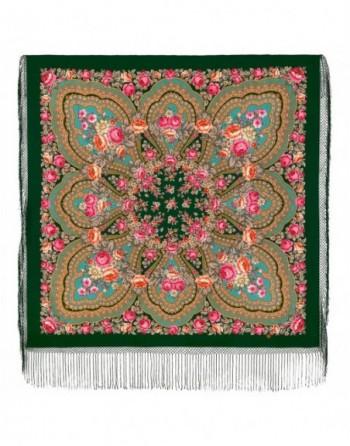 341-29-sal-esarfa-batic-din-lana-148x148cm-original-pavlovo-posad-rusia-model-floral-finifti-pe-fundal-verde