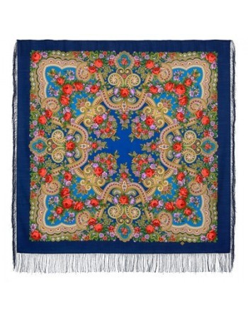 11-13-sal-esarfa-batic-din-lana-125x125cm-original-pavlovo-posad-rusia-model-floral-serenada-multicolor-pe-fundal-albastru