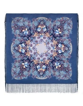 1844-14-batic-din-lana-89x89cm-original-pavlovo-posad-rusia-model-beloy-nochi-kruzhevnye-sny-multicolor-pe-fundal-albastru