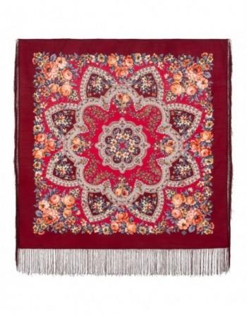 batic-esarfa-lana-89x89cm-original-pavlovo-posad-rusia-model-vesenneye-probuzhdeniye-multicolor-pe-fundal-rosu-visiniu