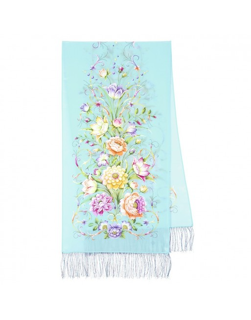 esarfa-din-matase-naturala-190x50cm-originala-pavlovo-posad-rusia-model-floral-polonez-multicolor-pe-fundal-albastru