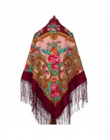 sal-esarfa-batic-din-lana-148x148cm-rusesc-original-pavlovo-posad-model-labzinskiy-multicolor-pe-fundal-rosu