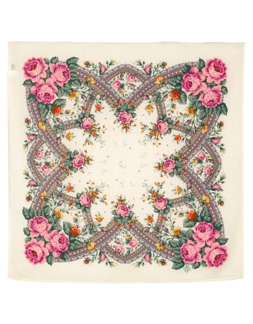 batic-esarfa-basma-sal-din-lana-72x72cm-original-pavlovo-posad-rusia-model-floral-volshebnyy-kray-pe-fundal-alb