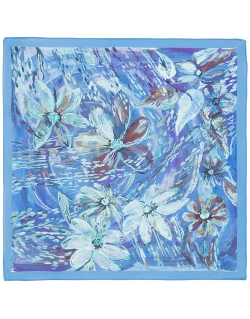 esarfa-batic-basma-din-matase-naturala-65x65cm-originala-pavlovo-posad-rusia-model-floral-nyuans-pe-fundal-albastru-cod-10006-13