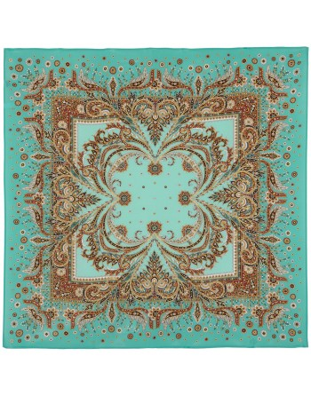 1603-11-esarfa-din-matase-naturala-89x89cm-originala-pavlovo-posad-rusia-model-koralovyy-briz-pe-fundal-albastru-turcoaz