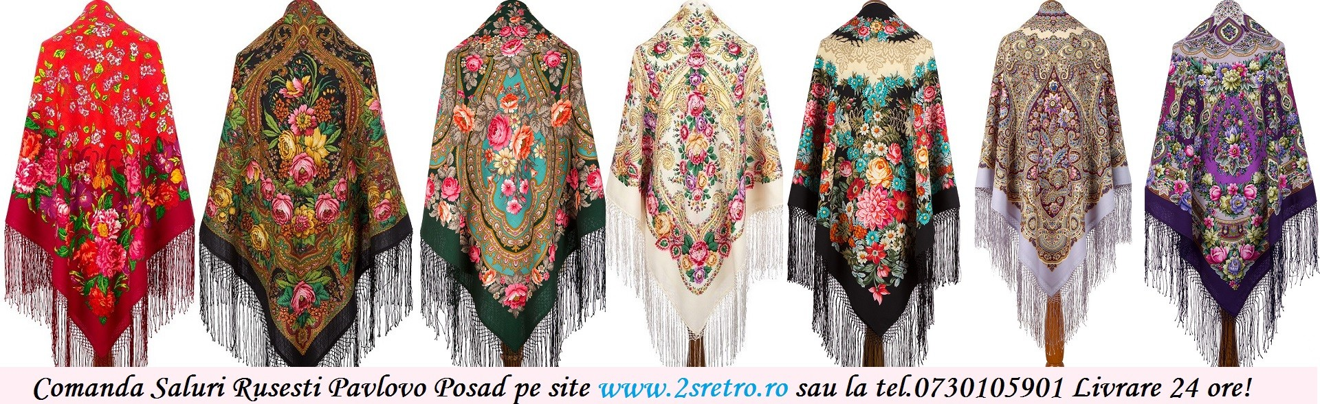 Cea mai Mare Oferta de Baticuri Originale Pavlovo Posad Shawl Russia